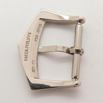 Patek Philippe Solid 18k White Gold Tang Buckle Fits A 16mm...