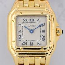 Cartier Panthere Lady 18K Gold massiv Luxusuhr Klassiker roman...