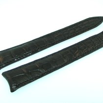 Piaget Strap Band 17mm Croco Black Negra Strap Correa Ip-09
