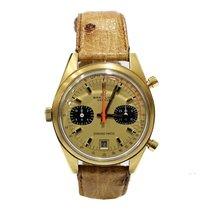 Breitling Vintage Chrono-Matic 2116 Chronograph 1970 Yellow Gold