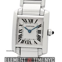 Cartier Tank Collection Tank Francaise 18k White Gold Ladies...