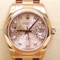 Rolex Datejust, Ref. 178245 - rosa Jubi Diamant ZB/Präsidentband