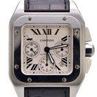 Cartier Santos 100 XL Chronograph Stainless Steel