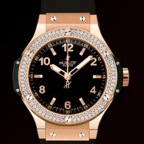 Hublot [NEW] Big Bang Gold Diamonds Ladies 361.PX.1280.RX.1104