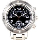 Hermès Clipper chronographe PM acier Ref CL2.310