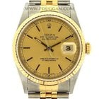 Rolex 18k yellow gold and stainless steel gent's Datejust