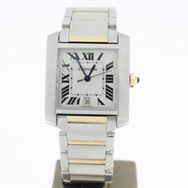 Cartier Tank Francaise Steel/Gold (Box Paper 2006) 28mm
