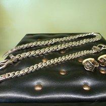 Hermès Vintage bracelet Sellier + collier Sellier + boucles...