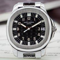 Patek Philippe Aquanaut Automatic Black Dial SS / SS