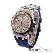 Audemars Piguet Royal Oak Offshore Lady diamonds white gold