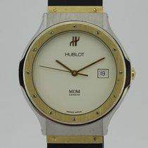 Hublot MDM Depose 18K Gold and Steel Quartz 1521.2