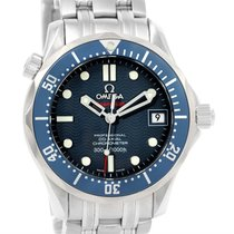 Omega Seamaster Midsize James Bond Blue Dial Watch 2222.80.00