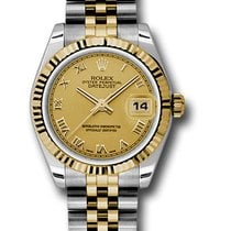 Rolex Watches: 178273 chrj Datejust 31mm - Steel and Gold Ye