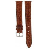 Patek Philippe Morellato Brown Crocodile Embossed Leather...