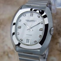 Girard Perregaux Swiss Mens 1970s Automatic Stainless Steel...