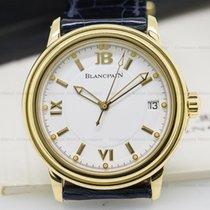 Blancpain 2100-1418-53 Leman Automatic 18K Yellow Gold (25317)