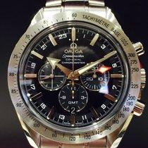 Omega Speedmaster Broad Arrow GMT Co-Axia Chronograph