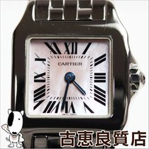 Cartier 【MT726】【中古】Cartier【カルティエ】サントス ドゥモワゼルSM レディース 腕時計 クオーツ...