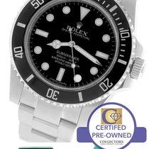 Rolex Submariner No-Date 114060 Stainless Black Dive Ceramic 40mm