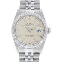 Rolex Men's Rolex Oyster Perpetual Datejust 16220 W/ Papers