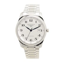 Longines Master Stainless Steel White Automatic L2.793.4.78.6
