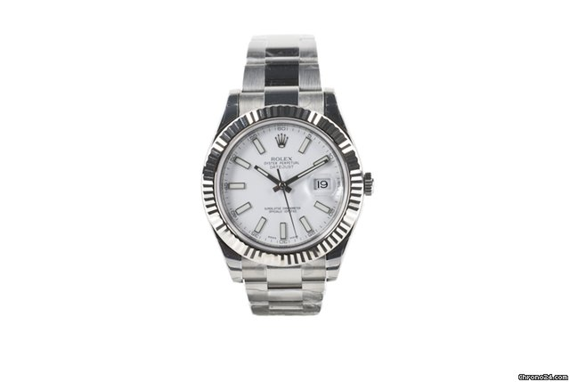 Rolex DATEJUST II - WHITE STICK DIAL