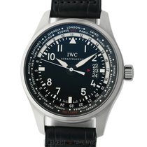 IWC Pilot Collection Worldtimer Stainless Steel 45mm Ref....