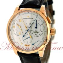 Jaeger-LeCoultre Duometre a Chronographe, Silver Dial - Rose...