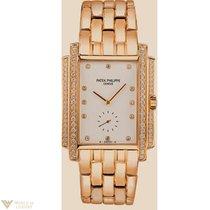 Patek Philippe Gondolo 18K Yellow Gold Diamonds Men`s Watch