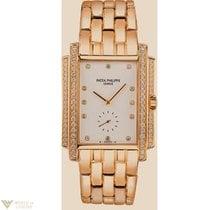 Patek Philippe Gondolo 18K Yellow Gold Diamonds Ladies Watch