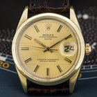 Rolex Oyster Perpetual Date 18K Gold Capped