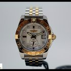 Breitling Galactic 36mm autom. steel/gold watch, mother of...