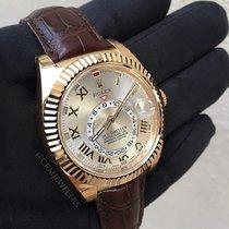 Rolex Sky-Dweller Silver Sunray