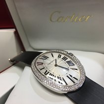 Cartier Cally - WB520009 Baignoire Large White Gold Diamond Bezel
