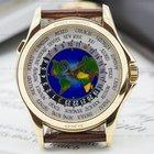 Patek Philippe World Time Enamel Dial 18K Yellow Gold