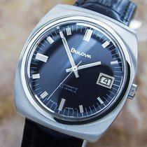 Bulova Automatic Circa 1960s Swiss Made Stainless Steel...