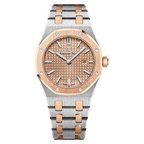 Audemars Piguet Royal Oak Steel and Rose Gold Quartz Watch