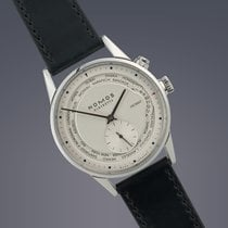 Nomos Pre-Owned  Zurich Worldtimer stainless steel automatic