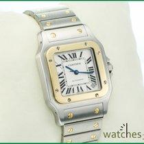 Cartier Santos Galbee XL Automatik 32x45mm Steel Gold