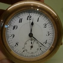 TABLE CLOCK - POCKET WATCH vintage chronograph minute repeater