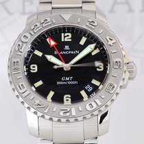 Blancpain Fifty Fathoms Trilogy GMT Steel Cal 5A50 Klassiker...
