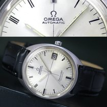 Omega Seamaster Cosmic Automatic Date Steel Mens Watch 166.026