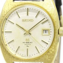 Seiko Vintage Grand Seiko Hi-beat 18k Gold Hand-winding Mens...