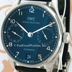 IWC IW500109 Portuguese 7-Day, Steel, Black Dial