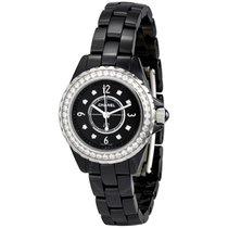 Chanel J12 Black Ceramic Quartz Ladies Watch
