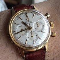 歐米茄 (Omega) c1959 Seamaster 14k gold cal 321 chronograph