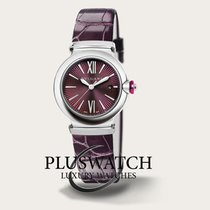 Bulgari Lucea Automatic 33mm Purple Dial Leather Strap  RO