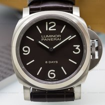 Panerai PAM562 Luminor Base 8 Days Tobacco Dial Titanium (24830)