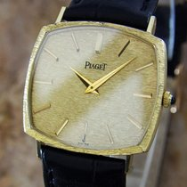 Piaget 18k Solid Gold Men's 1980s Vintage Manual Luxurious...