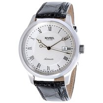 Nivrel Dress N125.020 Men's Watch in Stainless Steel